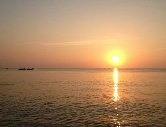 涠洲岛旅游观日出